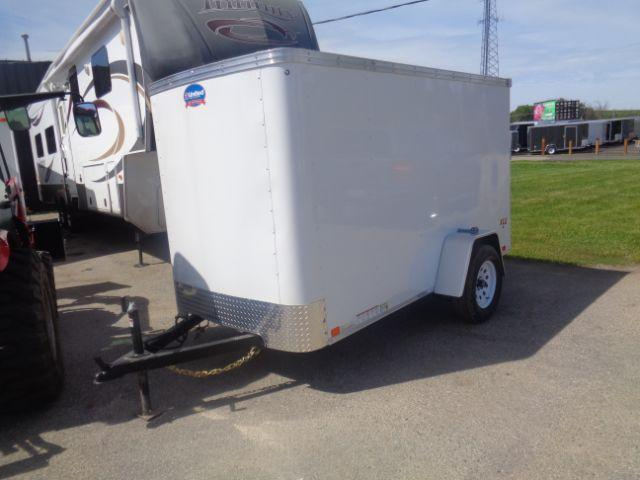 2019 United Trailers XLE-510SA30-S Ramp Door Enclosed Cargo Trailer