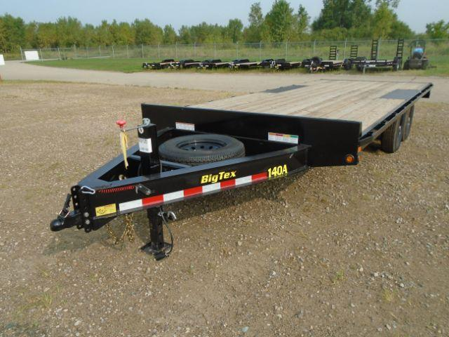 2019 Big Tex Trailers 14OA-20BK-8SIR 20ft Flatbed Other Trailer