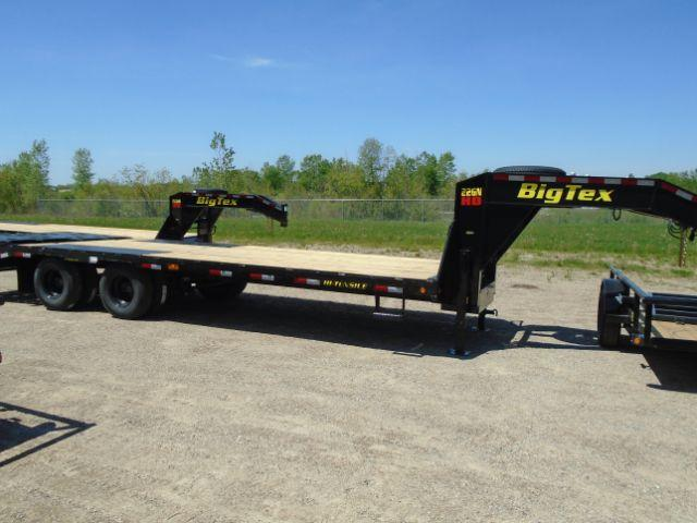 2019 Big Tex Trailers 22GN-20BK+5MR GOOSENECK Other Trailer