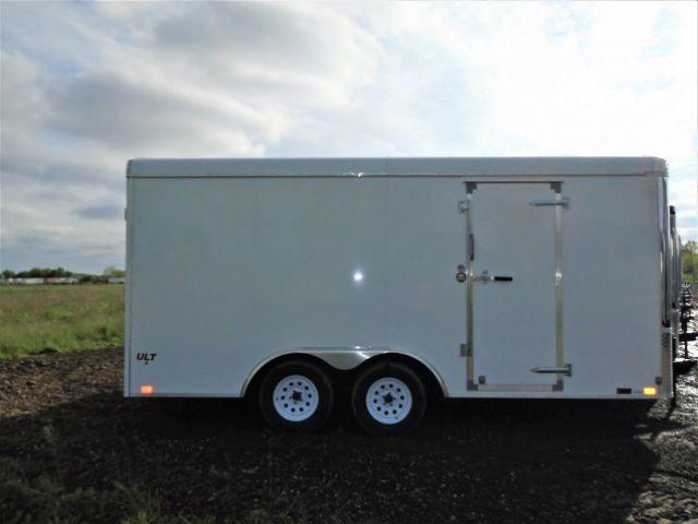 2019 United Trailers 8.5x16 7K Car Hauler Enclosed Cargo Trailer