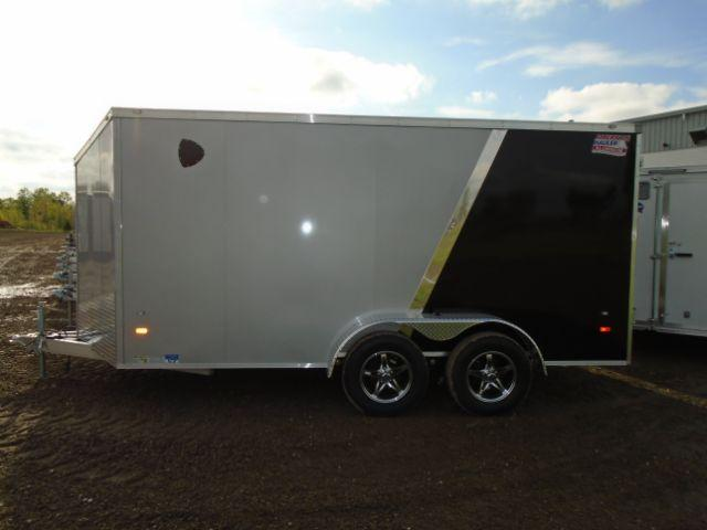 2018 American Hauler Industries 7X14 Slant V-Nose Cargo/Enclosed Trailer