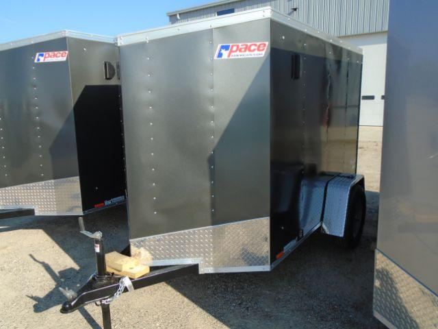 2019 Pace American OB5X8S12 V-NOSE/RAMP DOOR Enclosed Cargo Trailer