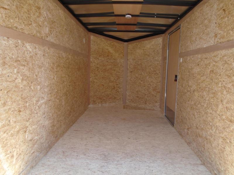 2019 Pace American OB6X12SI2 V-NOSE/RAMP DOOR/SIDE DOOR Enclosed Cargo Trailer