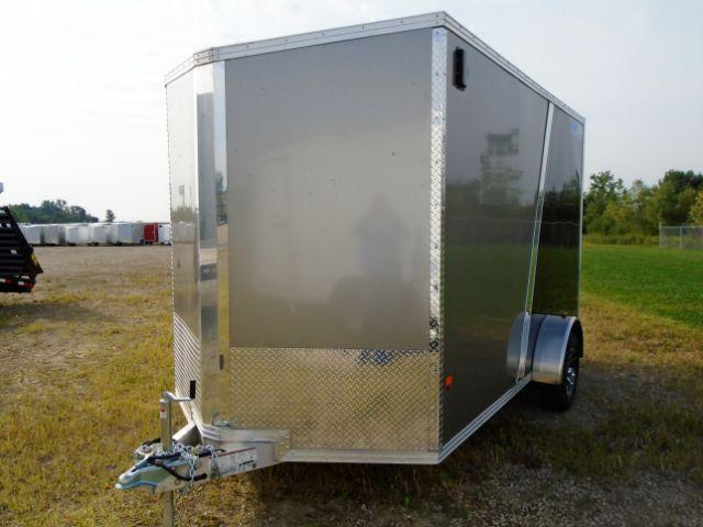 2018 CargoPro Trailers C7X12S-SA V-NOSE/RAMP DOOR/SIDE DOOR Enclosed Cargo Trailer