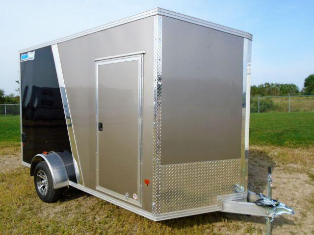 2018 CargoPro Trailers C7X12S-SA V-NOSE/RAMP DOOR/SIDE DOOR Enclosed Cargo Trailer