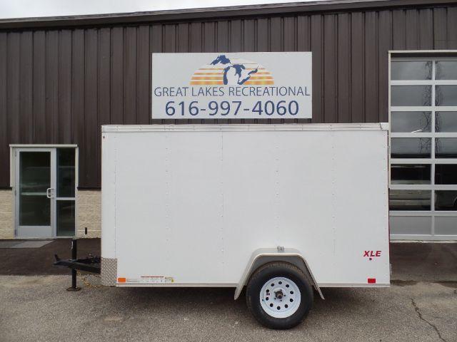 2018 United Trailers XLE-510SA30-S Ramp Door Enclosed Cargo Trailer