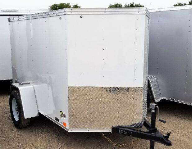 2019 United Trailers XLV-58SA30-S V-Nose/Ramp Door Enclosed Cargo Trailer