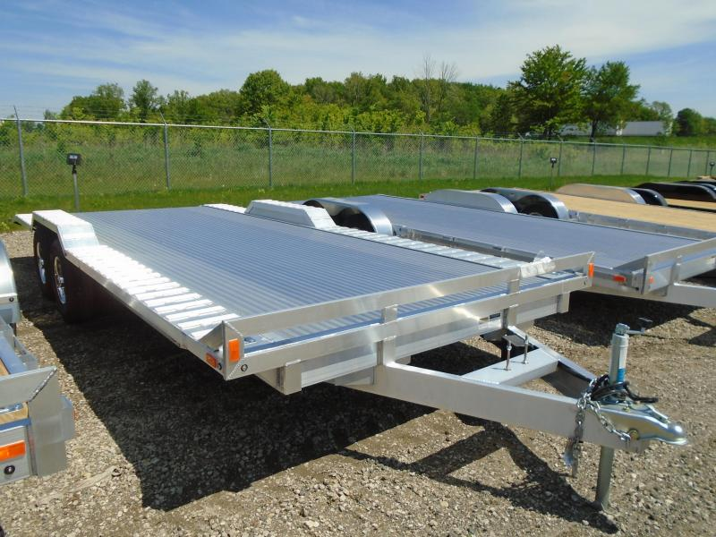2018 American Hauler Industries 8.5x20 Flat Deck Aluminum Wheel Over Trailer in Downing, WI
