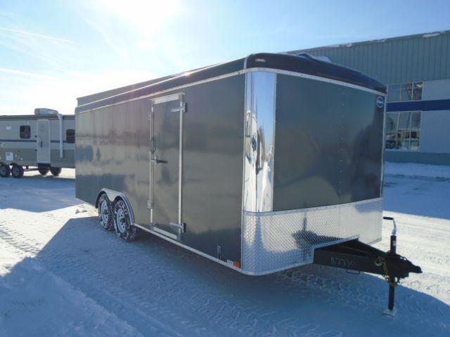 2018 United Trailers ULT-8.520TA50-S 20ft 10K CAR HAULER ENCLOSED Enclosed Cargo Trailer