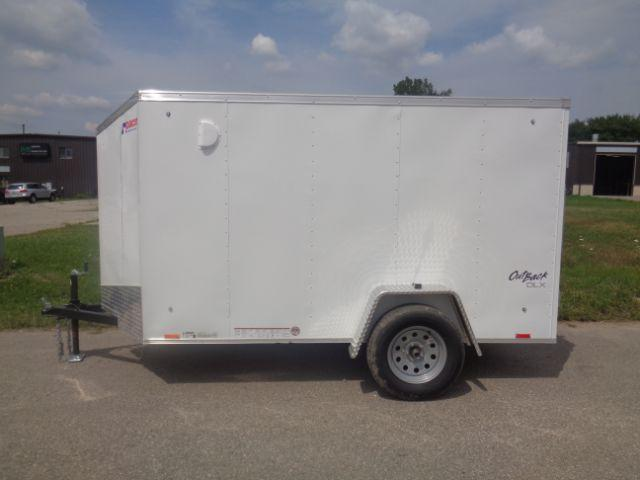 2019 Pace American 5x10 V-NOSE/RAMP DOOR Enclosed Cargo Trailer
