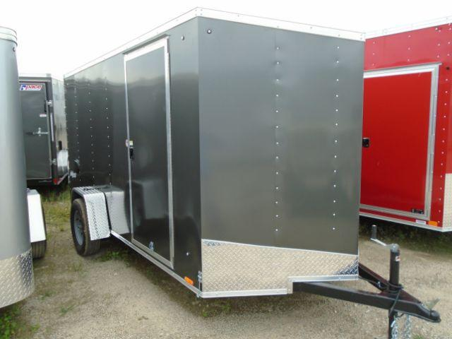 2019 Pace American OB6X12SI2 V-NOSE/RAMP DOOR Enclosed Cargo Trailer