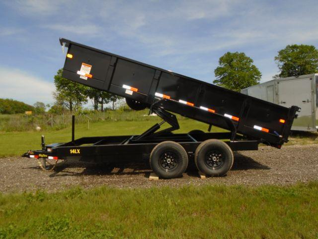 2019 Big Tex Trailers 7x16 14K DUMP TRAILER