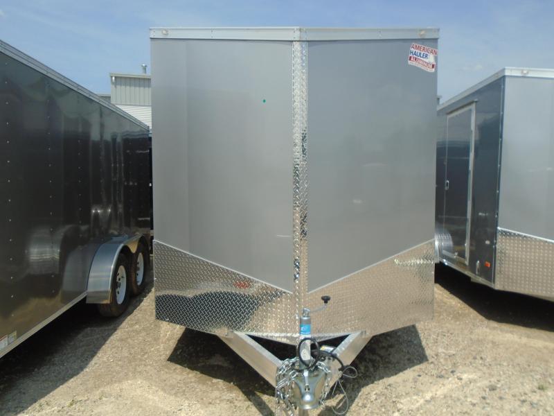 2018 American Hauler Industries 7x16 Slant V-Nose Aluminum Cargo/Enclosed Trailer
