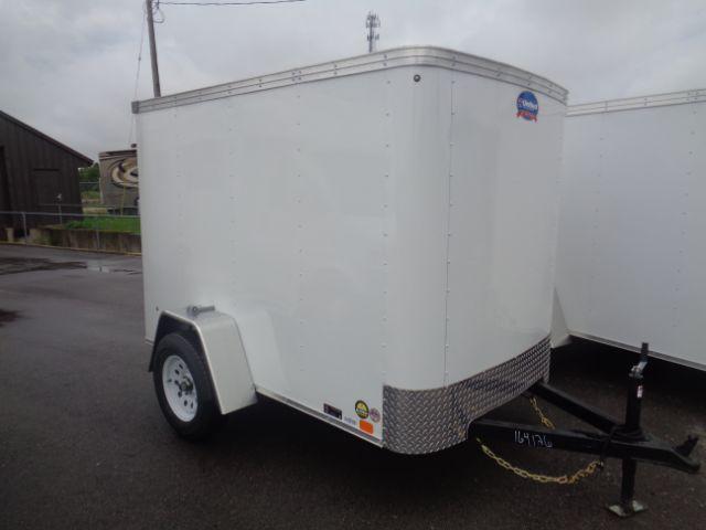 2019 United Trailers 5x8 RAMP DOOR Enclosed Cargo Trailer