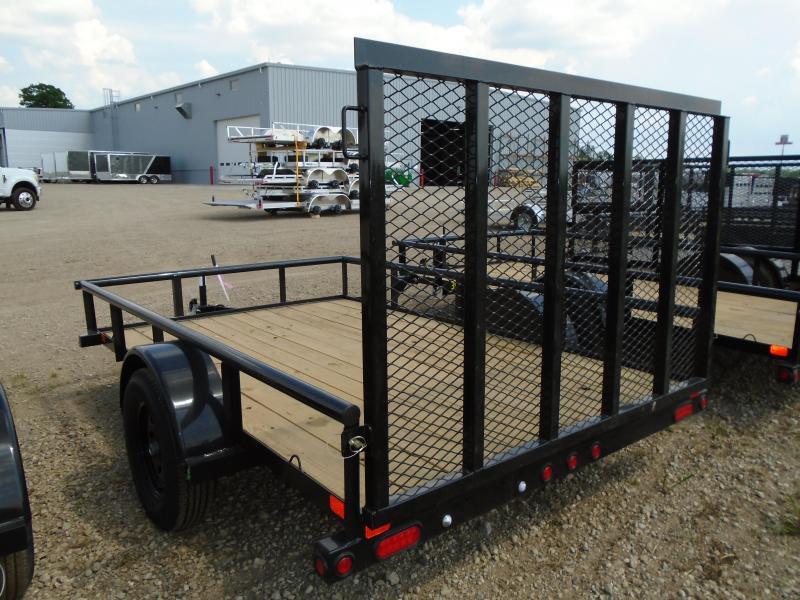 2019 Big Tex 6.5x10ft/Ramp Gate Utility Trailer