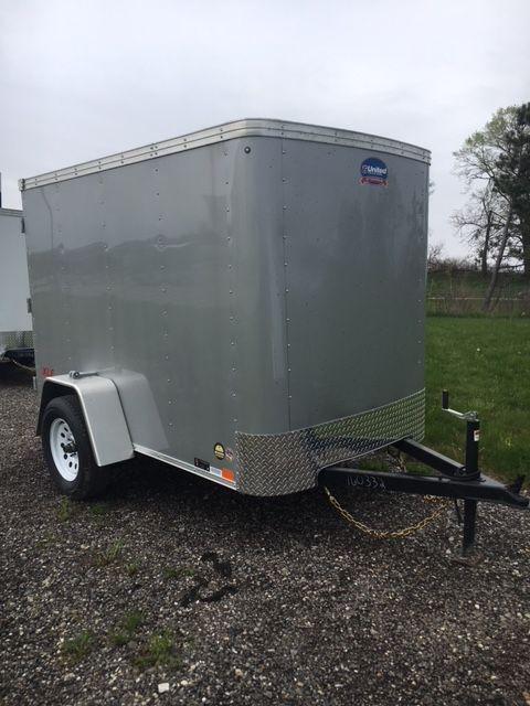 2019 United Trailers XLE-58SA30-S Swing Door Enclosed Cargo Trailer