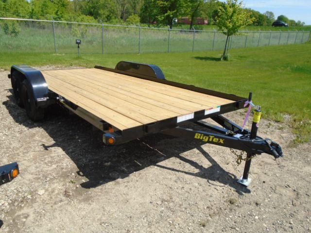 2019 Big Tex 16FT 6K Car Hauler Wood Deck  in Juda, WI