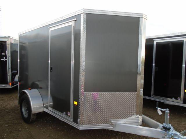 2018 CargoPro Trailers C6X12SSA-IF Aluminum/V-Nose/Ramp Door Enclosed Cargo Trailer