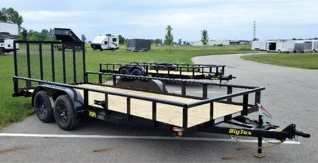 2019 Big Tex Trailers 70PI-18XBK4RG 7X18 7K Pipe Trailer Utility Trailer