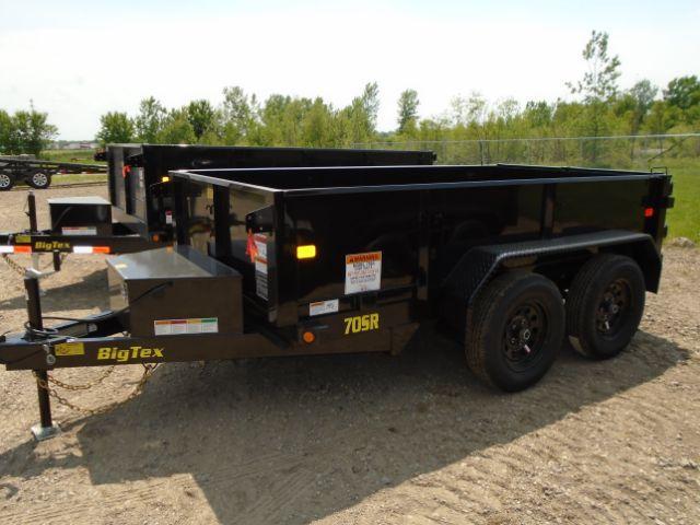 2019 Big Tex Trailers 70SR-10-5WDD 5X10 7K DUMP Other Trailer