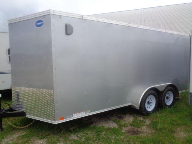 2019 United Trailers XLV-716TA35-8.5-S V-Nose/Ramp Door Enclosed Cargo Trailer