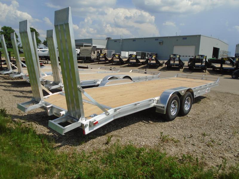 2018 American Hauler Industries 8x24 Equipment Hauler Wood Flat Deck Trailer