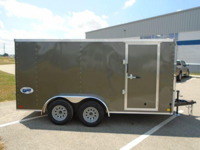 2020 Other GLEFTW714TA35-S ERIE 7X14 RD/SD Enclosed Cargo Trailer