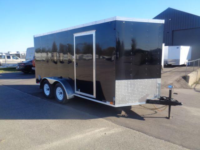 2019 United Trailers XLV-714TA35-8.5-S V-Nose/Ramp Door Enclosed Cargo Trailer