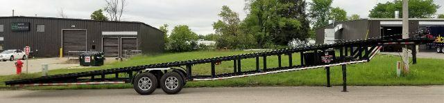 2000 Other 48ft Wedge Trailer 48x102 14K Wedge Utility Trailer