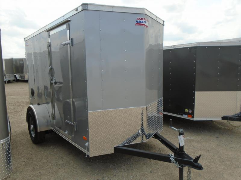 2018 American Hauler Industries NH510SA 5x10 Slant V-Nose/6' Height/Ramp Door Enclosed Cargo Trailer