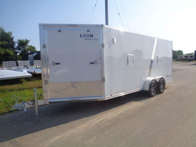 2019 Look Trailers 7x23 2-3 PLACE SNOWMOBILE TRAILER