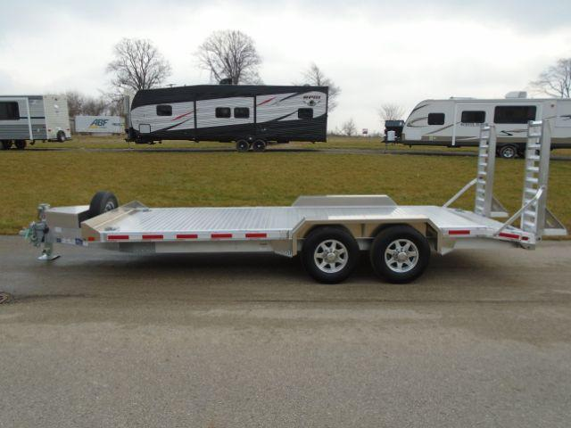 2019 Eby Trailers BH1EQP 14K 7X20 ALUMINUM LOW PRO Other Trailer