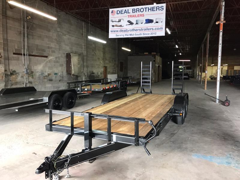 2019 NSM 8220 HD Equipment Trailer in Barton, AR