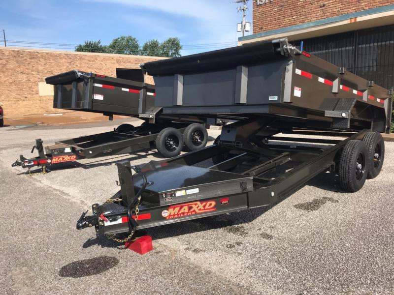 2019 MAXXD DJX8314 Dump Trailer in Ashburn, VA
