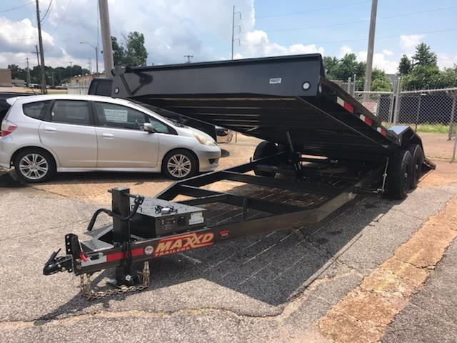 2019 MAXXD T6X10224 Equipment Trailer in Barton, AR