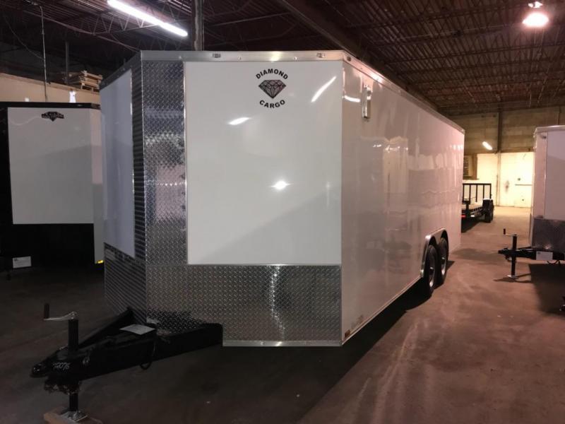 2019 Diamond Cargo 8.5 x 20 Enclosed Trailer in Ashburn, VA