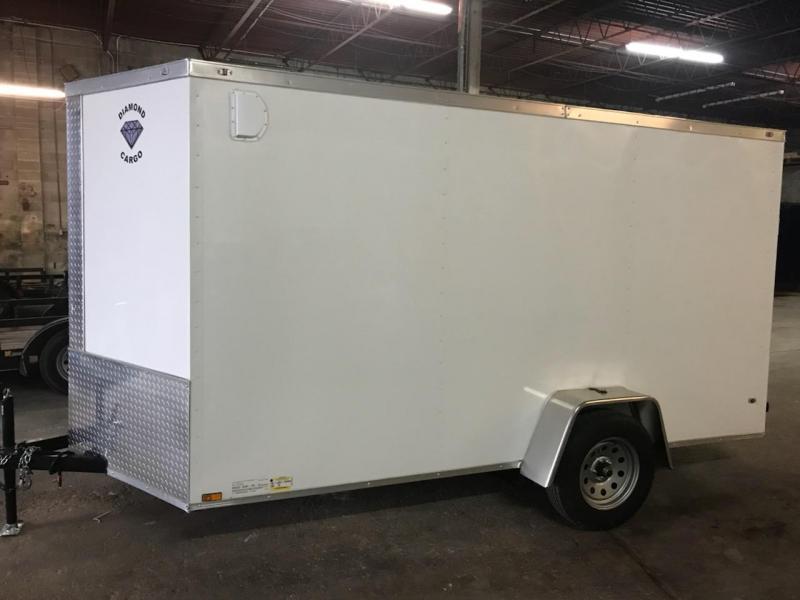 2019 Diamond Cargo 6 x 12 Enclosed Cargo Trailer in Ashburn, VA