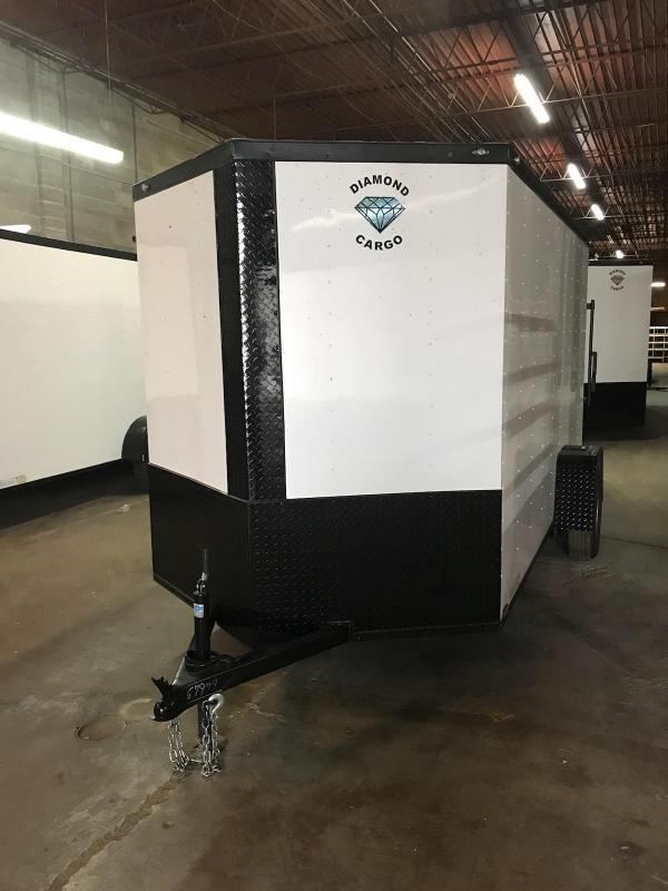 2019 Diamond Cargo 6x12 rental Enclosed Cargo Trailer in Ashburn, VA