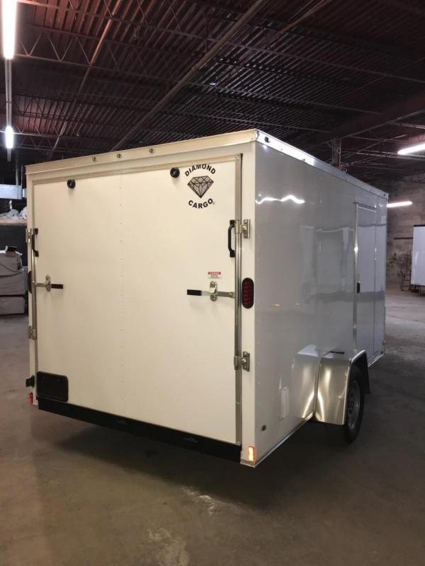 2019 Diamond Cargo 7 x 12 Enclosed Cargo Trailer in Ashburn, VA
