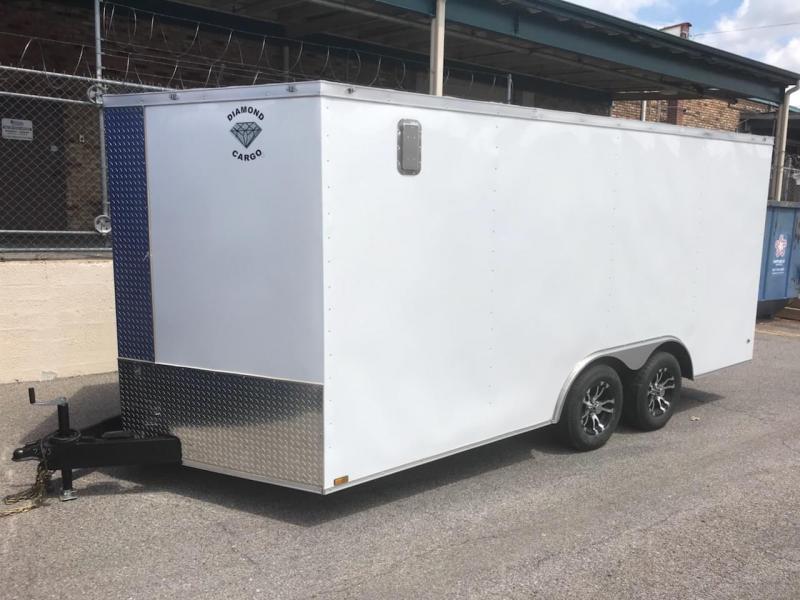 2019 Diamond Cargo 8.5 x 16 Enclosed Cargo Trailer in Ashburn, VA