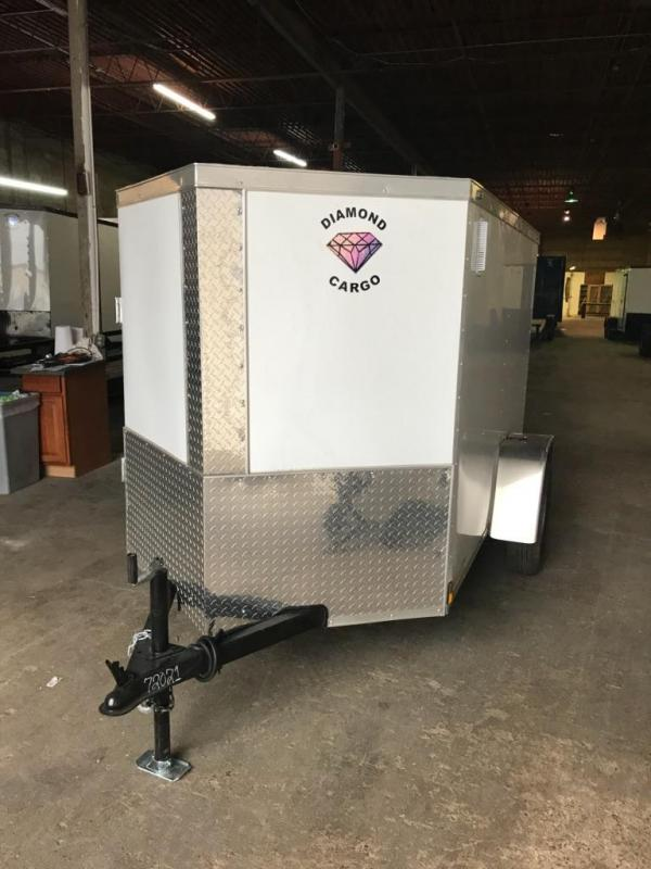 2019 Diamond Cargo 5 x 8 Enclosed Cargo Trailer in Ashburn, VA