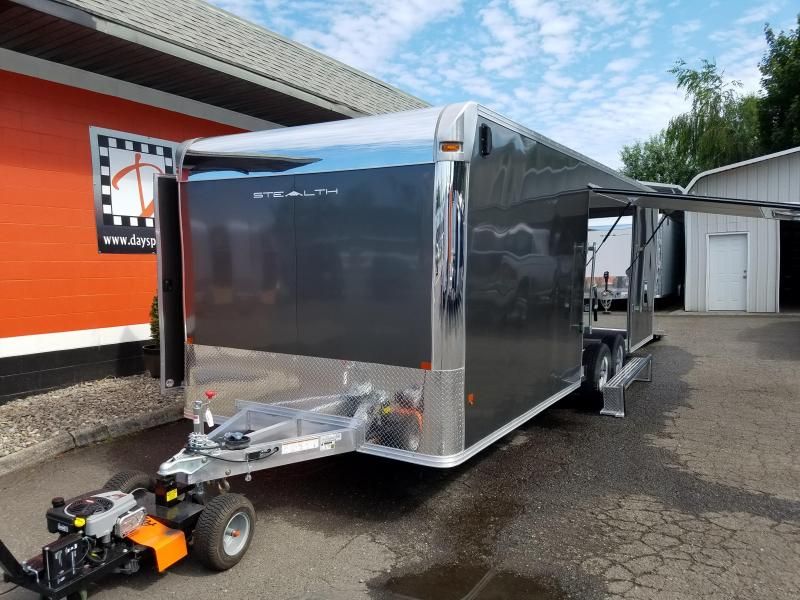 2018 Alcom-Stealth C8x24SCH-IF Car / Racing Trailer