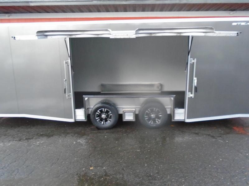 2019 Alcom-Stealth C8X24SCH-IF Car / Racing Trailer