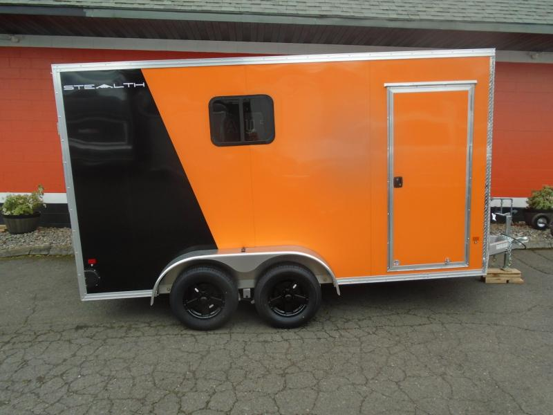 2019 Alcom-Stealth C7X14S-IF Enclosed Cargo Trailer