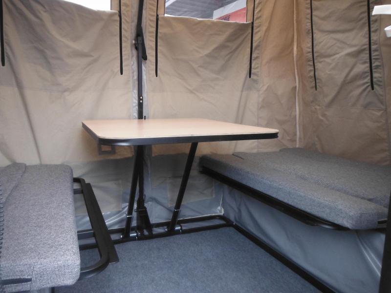 2017 Jumping Jack Trailers JJT6X8 BLACKOUT Tent Camper
