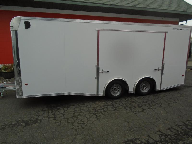 2019 Alcom-Stealth C8X20SCH Car / Racing Trailer