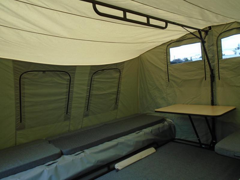2019 Jumping Jack Trailers JJT6X17 BLACKOUT Tent Camper