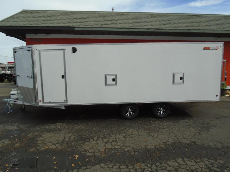 2019 Snopro E101X22-L Snowmobile Trailer