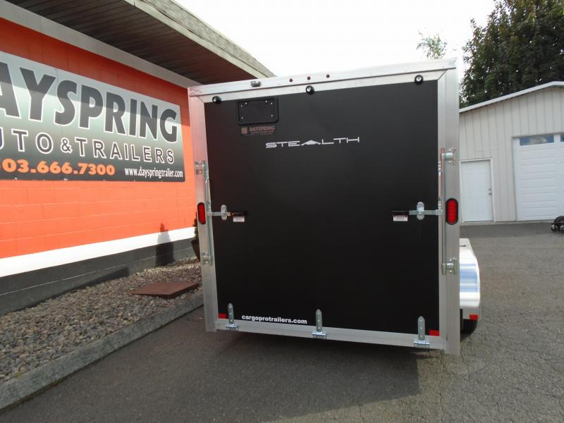 2019 Alcom-Stealth C7X14 Enclosed Cargo Trailer