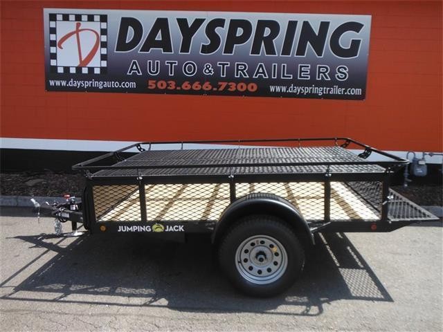 2017 Jumping Jack Trailers JJT6X8 Folding Camper